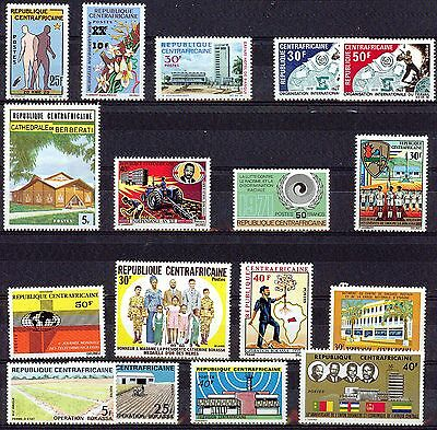 Central African Republic   40//219 Collection  Vf **