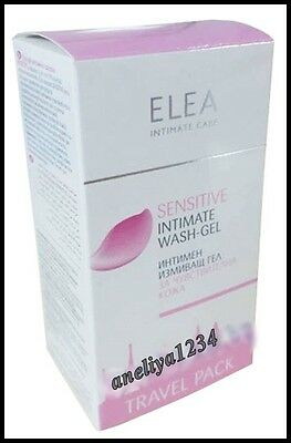 NEW Elea Intimate Wash-Gel Sensitive Travel Pack 15ml * 10 -Gentle Intimate Care