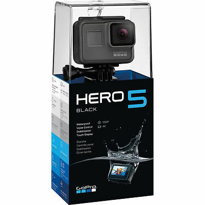 GoPro Hero5 Black Edition 4K 12MP Action Waterproof Camera with Touchscreen