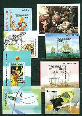 Benin 835//1053 Topical Sheet Collection  Vf **