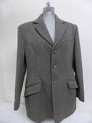 "Men's Caldene Tweed Wool Hacking or Show Jacket. 38""."