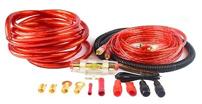 4 Ga Car Stereo Amplifier Wiring Kit Audio Complete Package