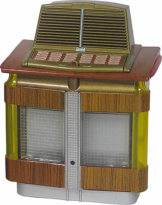 Jukebox Collectible Miniature Replica Aireon 1200 Airliner (1946) Lights & Plays