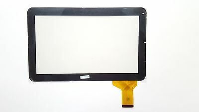 Schwarz - Touchscreen Digitizer Display Glas für Tablet iropro 10.1 inch