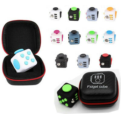 Magic Fidget Cube Stress Relief Toy Adult Kids UK Seller