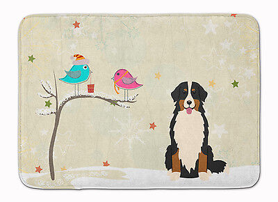 Christmas Presents between Friends Bernese Mountain Dog Machine Washable Memory