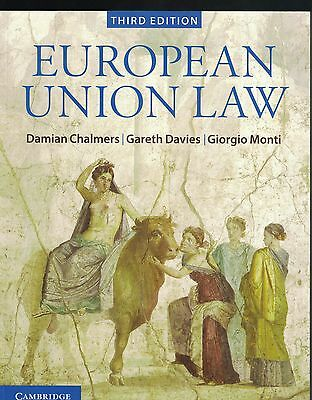 European Union Law: Text and Materials by Damian Chalmers 9781107664340