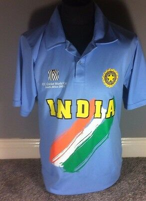 India Cricket World Cup 2003 Shirt Size M