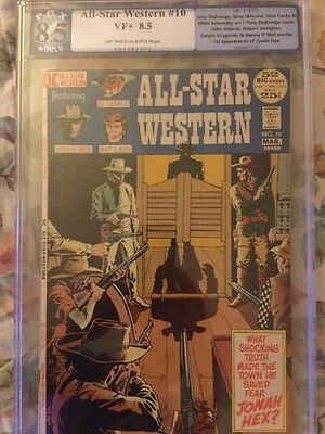 All Star Western 10 8.5 PGX (Like CGC And CBCS) 1st Appearance Of Jonah Hex