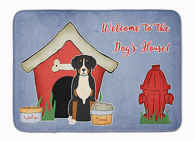 Dog House Collection Greater Swiss Mountain Dog Machine Washable Memory Foam Mat