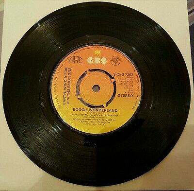 """Earth, Wind & Fire with The Emotions - Boogie Wonderland 7"""" Vinyl Single"""