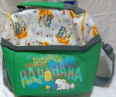 UFS Peanuts Snoopy Dog Get Going Snoopy Lunch Kit Bag Back to School New w Tags