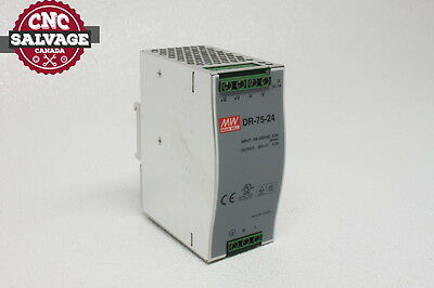 Mean Well Power Supply Dr-75-24 *new*