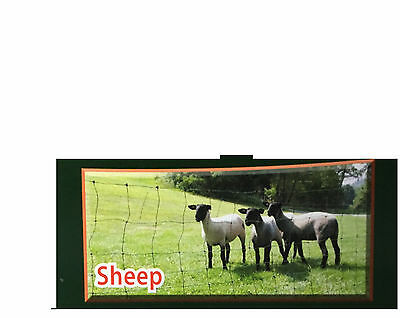 Electric Fence Netting for Sheep 164'/Roll - White