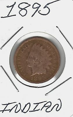 USA 1895 Indian Cent....Take A look !!