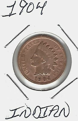 USA 1904 Indian Cent...Take A look !!