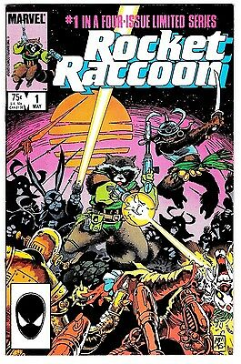 ROCKET RACCOON #1 (VF+) 1st Solo! High Grade 1985 Marvel GUARDIANS OF THE GALAXY