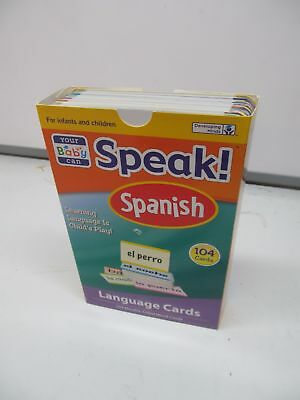 Your Baby Can Speak Spanish - 104 language flash cards