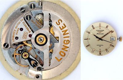 LONGINES ADMIRAL original automatic 431 watch movement   working  (4846)