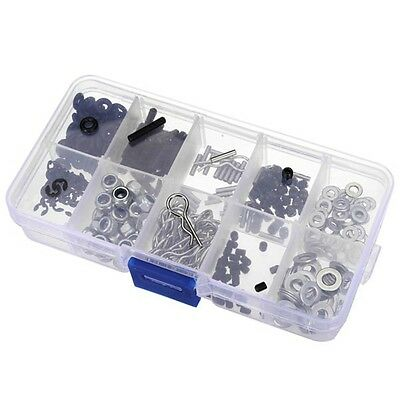 Nuts Bolts O Rings Screw Box Set HSP 1/10 Rc Remote Control Car Parts - UK Stock