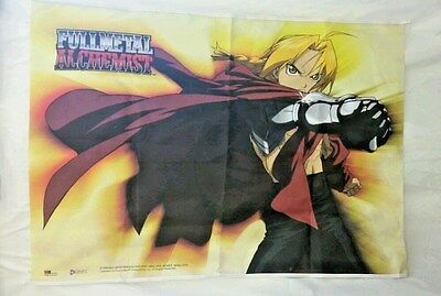 "FULLMETAL ALCHEMIST Cloth Banner Poster 42 "" Long x  31"" Tall -89"