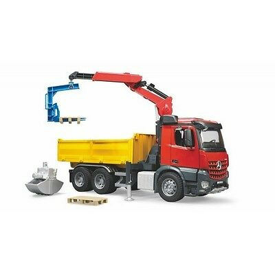 Bruder MB Arocs Constrution Truck with Crane and accessories (03651) Toy