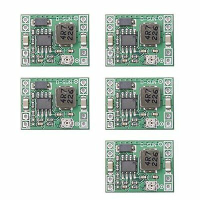 Qunqi 5pack MP1584EN ultra Small DC-DC 3A power Step-Down Adjustable Modu... NEW