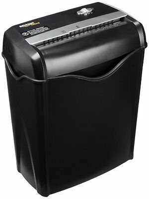 AmazonBasics 6-Sheet Cross-Cut Paper and Credit Card Shredder...NEW