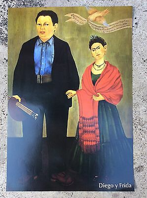 Frida Kahlo Mexican Poster 15X11 Inches
