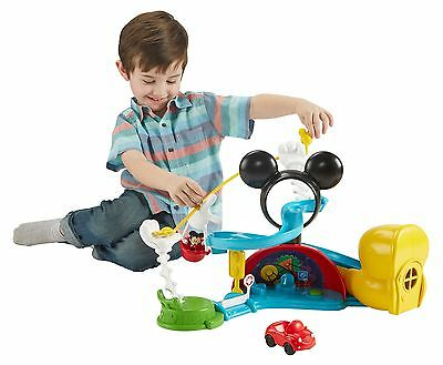 Fisher-Price - Disney Mickey Mouse Clubhouse  Zip Slide and Zoom Clubhouse