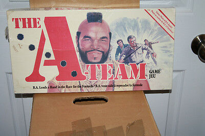 Great unique item The A-TEAM  Game *NEW* from the early 80's