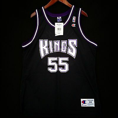 on sale 83f49 8bc56 100% AUTHENTIC JASON Williams Champion Kings Jersey Size 44 M L