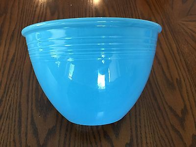 Vintage Fiesta Turquoise Light Blue #6 Nesting Mixing Bowl