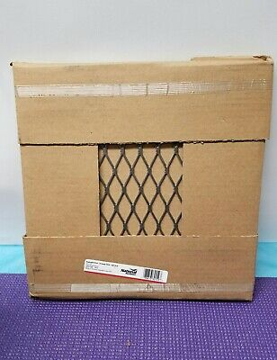 "LOT OF 2-Stanley National Hardware N301-598 407512 Expanded Steel Grid 12""x12"""