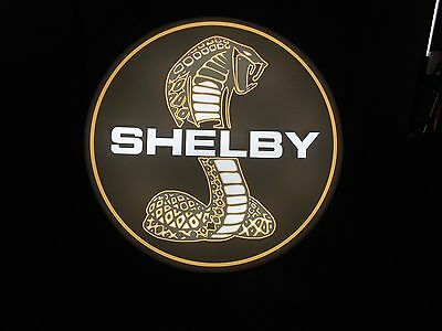 Shelby Lighted Sign