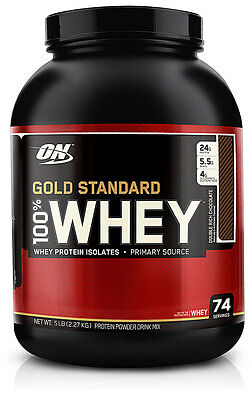 5lb - ON 100% Whey Protein