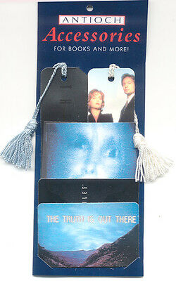 Rare Vintage Promotional Antioch Official  X Files Bookmark and Wallet card set