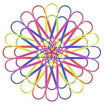 """RuiLing Multicolor 4"""" Inch (100mm) Mega Large Jumbo Giant Big Paper Clips,...NEW"""