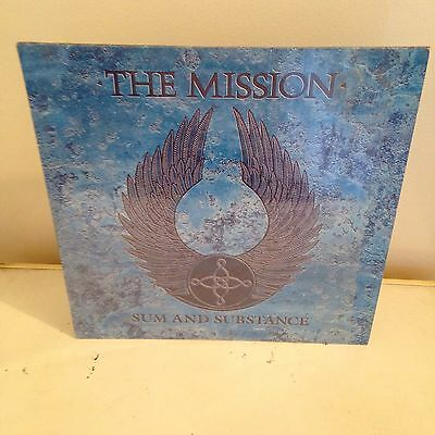The Mission Sum And Substance  Double LP