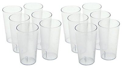 Winco - Clear Plastic Tumbler/Stackable Restaurant Beverage cup1-Pack of ... NEW