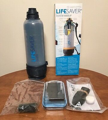 LIFESAVER 6000UF Water Filtration Bottle