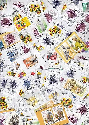 Australia - Recent $1 Kiloware Mix 2016 issues 100x stamps used on paper Lot P
