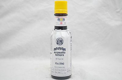 Angostura Aromatic Cocktail Bitters Bar Drink Flavor Mixology 4 oz. *