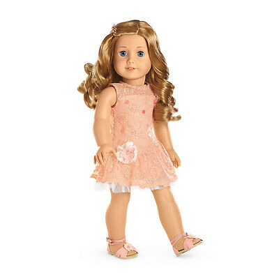 American Girl - Shimmer & Lace Party Dress - NIB