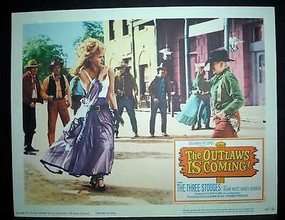 The Outlaws is Coming   1964 11x14 Original U.S lobby card  in Toploader