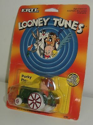 Ertl, Looney Tunes Porky Pig Tractor (Dated 1989) Warner Brothers