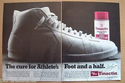1987Tinactin - Professinal Cure for Athlete's Foot AD