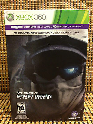 Ghost Recon Future Soldier-Ultimate Edition+USB Missile Launcher(Xbox 360)Clancy