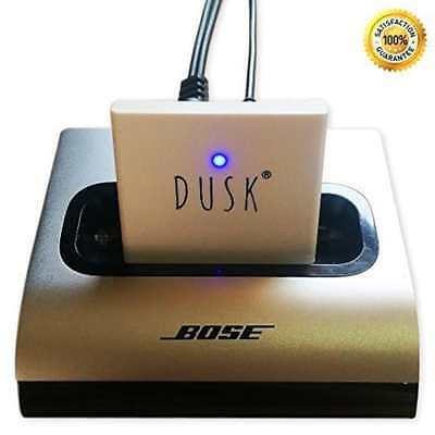 Dusk® 30 Pin Bluetooth Adapter for Docking Stations Stream Music Wirelessly Com