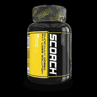Scorch by MAN Sports (168 Thermo Caps) Fat Loss Solution